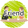"Cantonese conversation ""friend"" with audio"